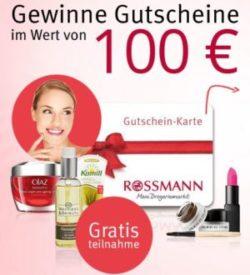 Rossmann Gutschein Verlosung