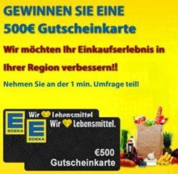 Edeka Gutschein Gewinnspiel