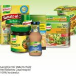 Knorr Produkte gewinnen