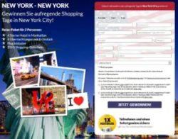 New York Reise gewinnen